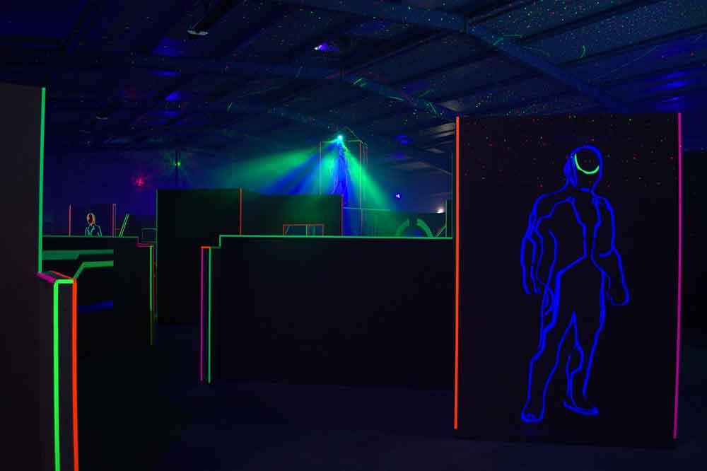 Lasertag-Arena